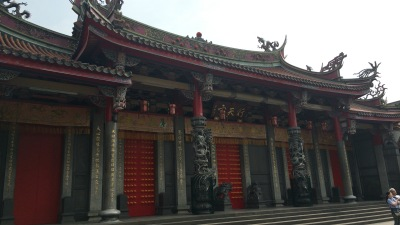 台湾の商売繁盛の神様 行天宮